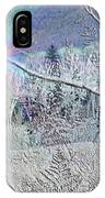 Frosty Window Distant Sun IPhone Case