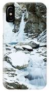 Frozen Bash Bish Falls IPhone Case
