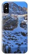 Frozen Black Lake IPhone Case