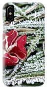 Frozen Flower IPhone Case