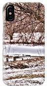 Frozen Pond IPhone Case