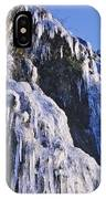 Frozen Waterfall On Oregon Central Coast IPhone Case