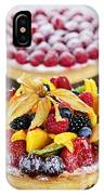 Fruit And Berry Tarts IPhone Case