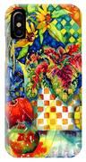 Fruit And Coleus IPhone X Case