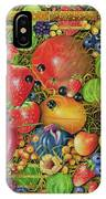 Fruit In Bamboo Box IPhone Case