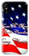 Ft. Bragg - Christmas IPhone Case