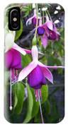 Fuchsia Ladies In Waiting IPhone Case