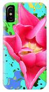Fuchsia Tulip By M.l.d. Moerings 2012 IPhone Case
