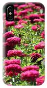 Fuchsia Zinnia IPhone Case