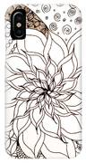 Full Bloom V IPhone Case