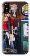 Full Service Route 66 Gas Station IPhone Case