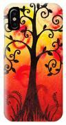 Fun Tree Of Life Impression IIi IPhone Case