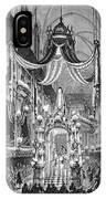 Funeral Dauphine, 1746 IPhone Case