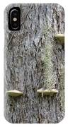 Fungus On Tree IPhone Case