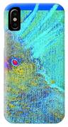 Funky Sulphur Crested Cockatoo Bird Art Prints IPhone Case
