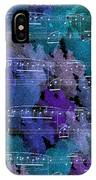 Fur Elise Music Digital Painting IPhone Case