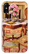 Furniture - Chair - The Tea Party IPhone Case