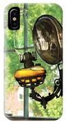 Furniture - Lamp - An Oil Lantern IPhone Case