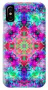 Fushia Rainbow Mandala IPhone Case