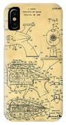 Futuristic Toy Gun Weapon Patent IPhone Case