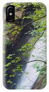 Gainfeld Waterfall In Spring Austria IPhone Case