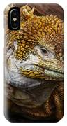 Galapagos Land Iguana  IPhone X Case