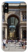 Galleria Vittorio Emanuele. Milan IPhone Case