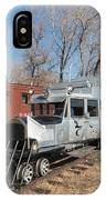 Galloping Goose 7 In The Colorado Railroad Museum IPhone Case