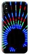 Gama Ray Light Burst Abstract IPhone Case