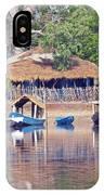 Gambian Fishing Village IPhone Case