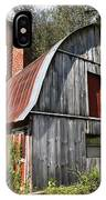 Gambrel-roofed Barn IPhone Case