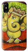 Ganesh I IPhone Case