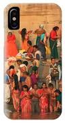 Ganges Pilgrims IPhone Case