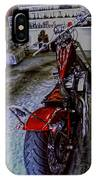 Garage Kept Chopper IPhone Case