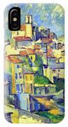 Gardanne By Cezanne IPhone Case