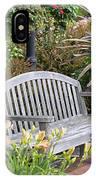 Garden Benches 3 IPhone Case