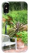Garden Benches 7 IPhone Case