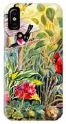 Garden Birds IPhone Case