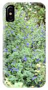 Garden Blues IPhone Case