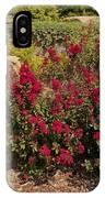Garden Bush At Woodward Park 2f IPhone Case