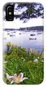 Garden By The Sea IPhone Case
