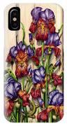 Garden Camouflage IPhone Case