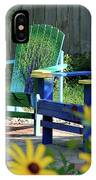 Garden Chairs IPhone Case