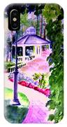 Garden City Gazebo IPhone Case