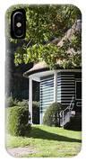 Garden Dome House In City Park Boschveld Arnhem Netherlands IPhone Case