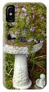 Garden Flowering Pot IPhone Case