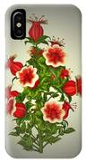 Garden Flowers 8 IPhone Case