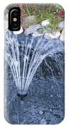 Garden Fountain IPhone Case