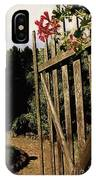 Garden Gate Welcome IPhone Case