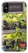 Garden Herb Nursery IPhone Case
